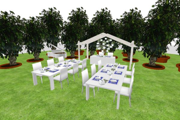 ガーデンウェディングパーティ♪