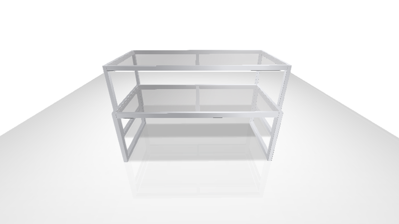 ガラステーブル [ムサシノ工芸]